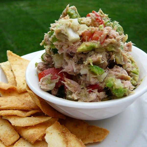 ensalada de atún con aguacate - ensalada de atún con aguacate