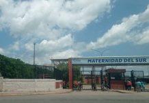 Mujer dio a luz a las afueras de Maternidad del Sur por falta de materiales (+Video)