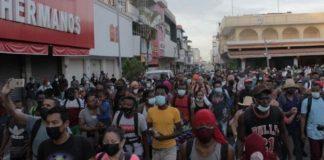 Niña venezolana se extravió cuando detuvieron caravana de migrantes en México