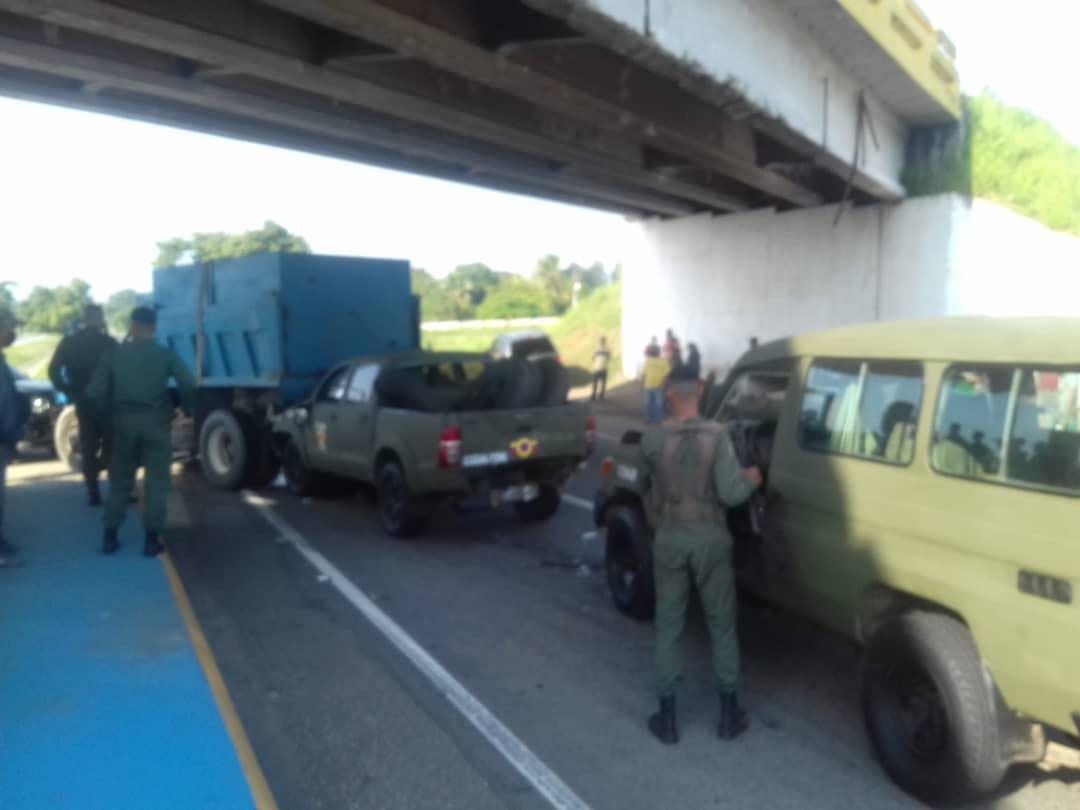 Siniestro vial en la Encrucijada de Tocuyito - Siniestro vial en la Encrucijada de Tocuyito