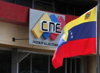 CNE extendió plazo para sustitución de candidatos