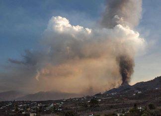Volcán de la Palma se estabilizó tras una semana de erupción