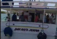 Rescatan a dos tripulantes Don Rafa Junior Rescatan a dos tripulantes Don Rafa junior
