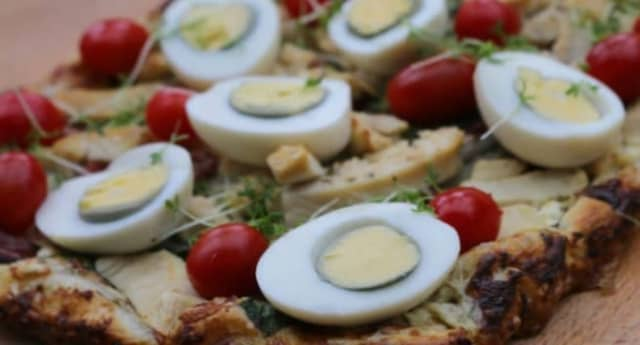 Yema del huevo sancochado - Yema del huevo sancochado