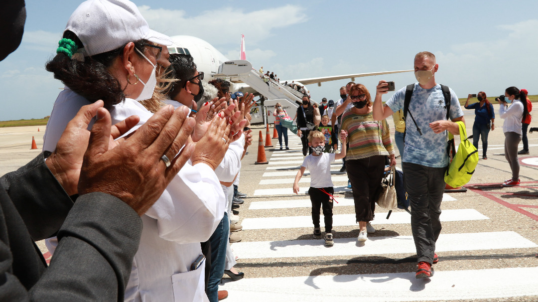 400 turistas rusos a Margarita - 400 turistas rusos a Margarita