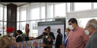 Maduro regresó de México - Maduro regresó de México