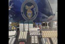 Detenido hombre por venta ilegal de medicinas