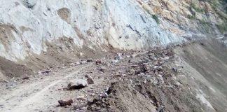 Deslizamiento de tierra en La Roca - Deslizamiento de tierra en La Roca
