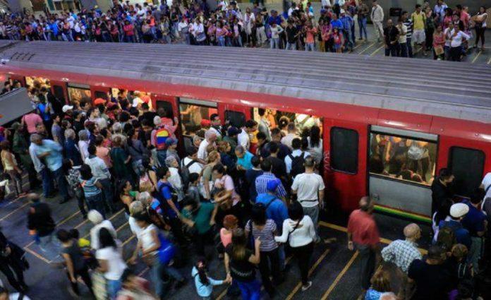Reportaron explosiones en vagones del Metro de Caracas