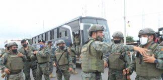 Soldados intervinieron en el penal de Guayaquil tras enfrentamiento Penal de Guayaquil