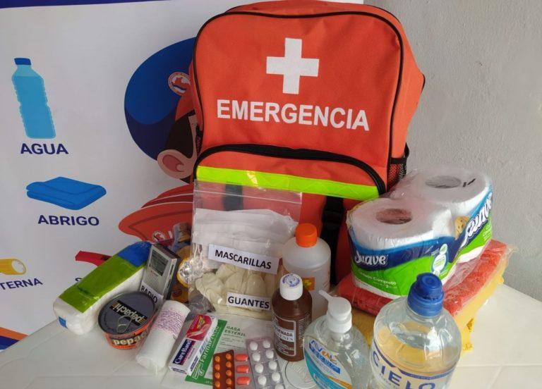 ¿Terremotos o inundaciones? Lo que debe incluir una mochila de emergencia