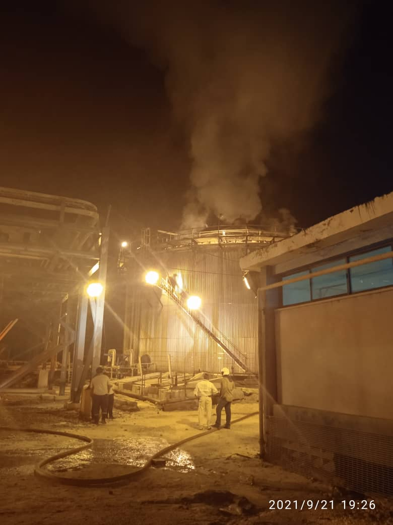 Incendio en Pequiven - Incendio en Pequiven