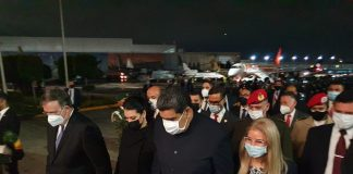 Nicolás Maduro está en México - Nicolás Maduro está en México