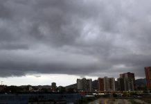 Inameh prevé nubosidad parcial