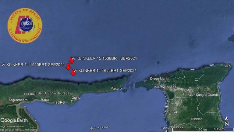 ONSA: Bandas de piratas secuestraron al tripulante del velero Klinker
