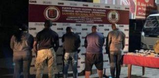 Policías detenidos prestaban servicio privado - Policías detenidos prestaban servicio privado
