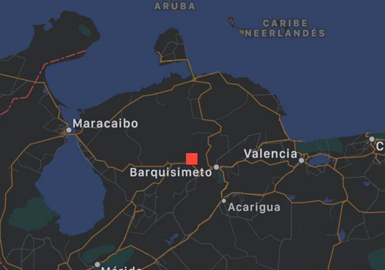 Se registró sismo de magnitud 4.2 en Quibor, estado Lara