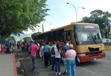 Aumento del pasaje urbano en Naguanagua