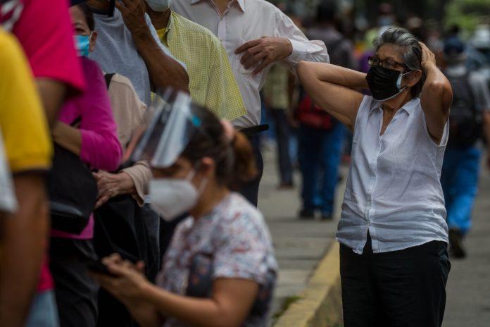 Venezuela registró 1.191 nuevos casos de Covid-19