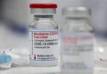 partículas de acero inoxidable en vacuna Moderna
