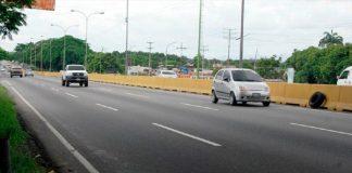 Hombre arrollado en la Autopista Sur causó retención vehicular