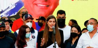 Camilla Fabri denuncia EE.UU. alex Saab