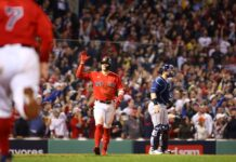 Medias Rojas de Boston Rays de Tampa Bay avanzaron a la Serie de Campeonato de la Liga Americana