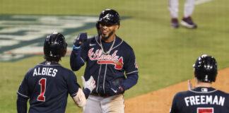 Bravos de Atlanta a un triunfo de la Serie Mundial tras aplastar a los Dodgers de los Ángeles