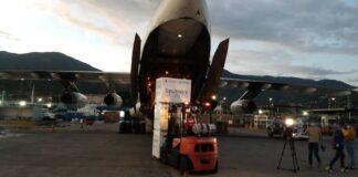Más de 800.000 dosis de Sputnik V arribaron este lunes 21-O a Venezuela