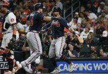 Bravos de Atlanta se llevaron el primer juego de la Serie Mundial Astros de Houston
