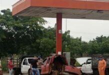 Explota una bombona de gas vehicular en Guárico - Explota una bombona de gas vehicular en Guárico