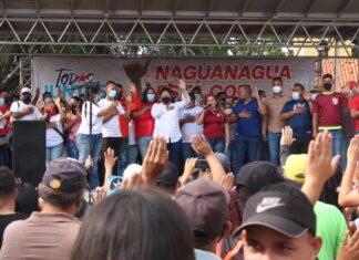 Maquinaria electoral del GPP en Naguanagua