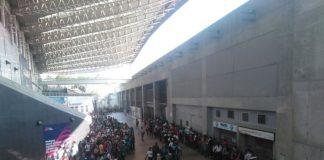 Fuertes lluvias inundaron La Rinconada y otras estaciones del Metro de Caracas