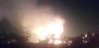 Explotó una línea de alta presión de gas en Anzoátegui