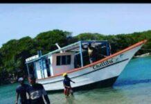 Cinco tripulantes desaparecidos en embarcación que zarpó desde el Supí