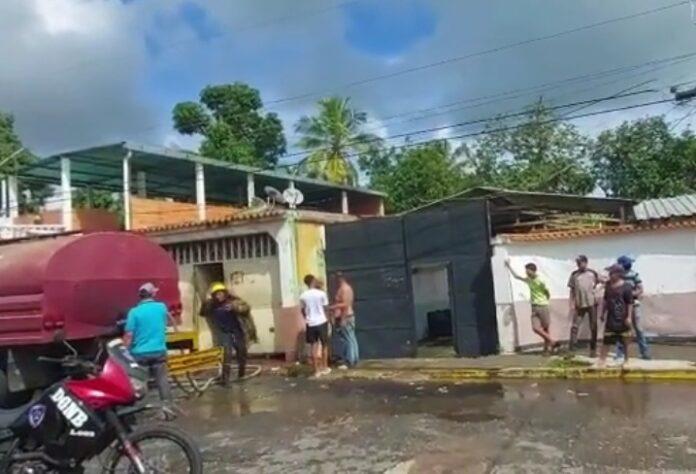 Incendio en el Municipio Libertador dejó dos personas heridas