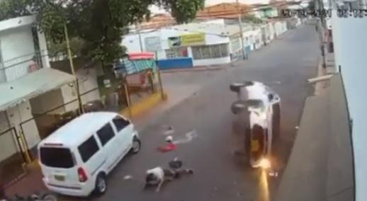 Sacerdote ebrio en Cúcuta por poco asesina a una mujer (VÍDEO)