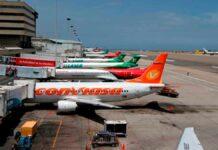 INAC restringe vuelos internacionales