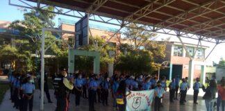 Municipio San Joaquín inició las clases presenciales con normalidad
