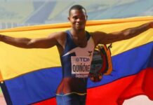 Asesinan al velocista Alex Quiñónez