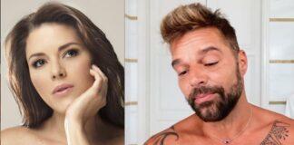Alicia Machado y Ricky Martin - Alicia Machado y Ricky Martin