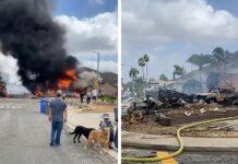 Avioneta se estrelló en California