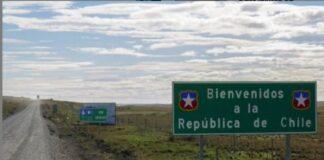 El paso de la frontera de Chile - El paso de la frontera de Chile
