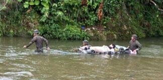 Familia venezolana fue rescatada en selva del Darién
