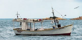 Rescatan a tripulantes de la embarcación