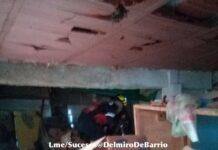 Explosión de bombona de gas en Caracas