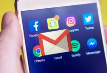 Twitter y Gmail