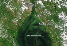 Nasa reveló imágenes del Lago de Maracaibo - Nasa reveló imágenes del Lago de Maracaibo