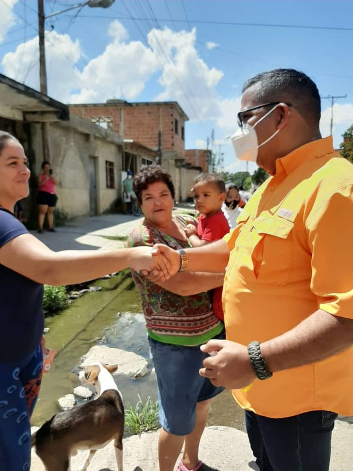Naguanagüenses apoyan candidatura de Manuel Barroeta