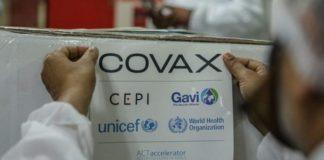 Venezuela recibió vacunas del sistema Covax este domingo
